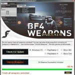 battlefield 4 all weapons