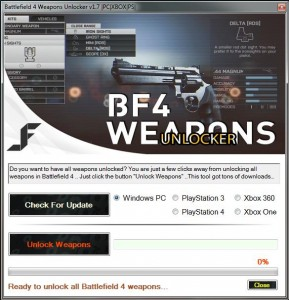 battlefield 4 weapons