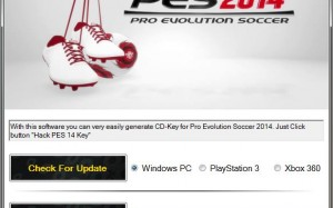 pes 14 key code giveaway