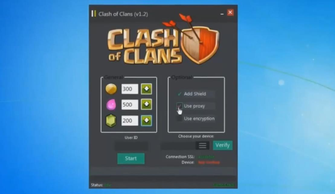 Working Clash of Clans Hack-Cheat (Free Download)