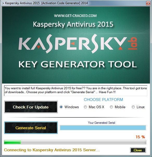 activate your Kaspersky Anti-Virus for free, easy and fast activation codes
