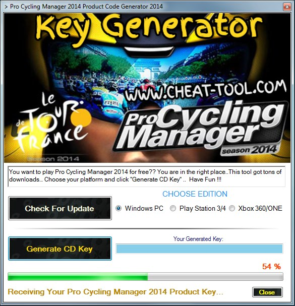 Игра Pro Cycling менаџер 2014: Le Tour de France for free.. gratuit codes