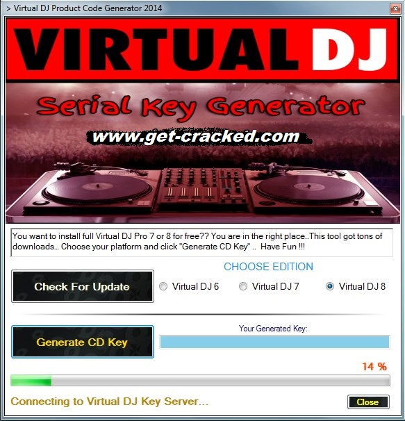 activer n'importe quelle version de virtual dj gratuitement