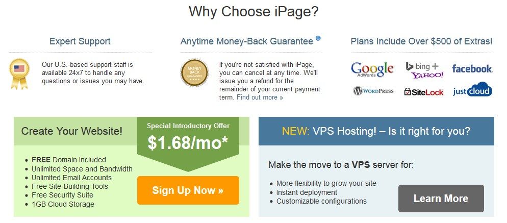 top webhosting services