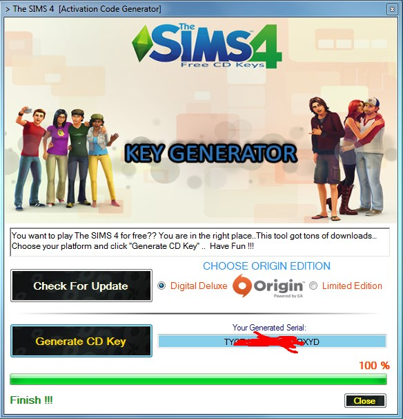 the sims 4 activation key generator
