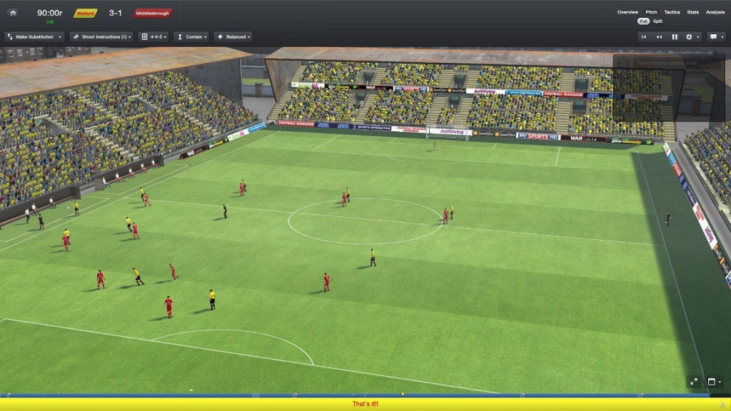 FM15 gameplay screenshot