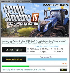 faqrming simulator 2015 serial number giveaway, play on steam for free