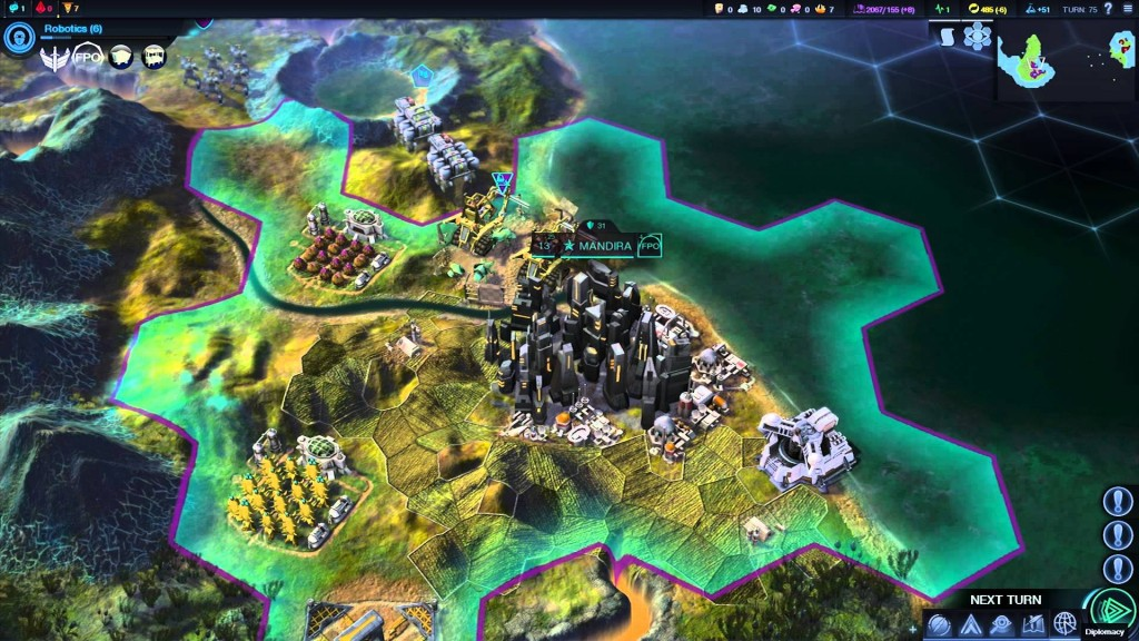 Sid Meiers Civilization Beyond Earth gameplay