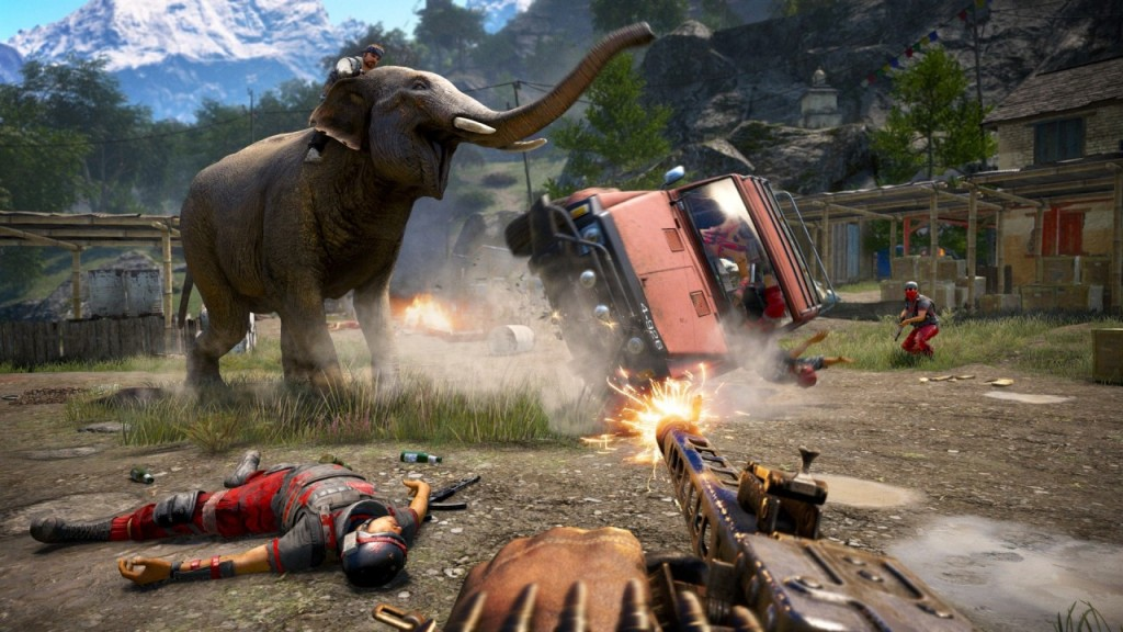gameplay of far cry 4