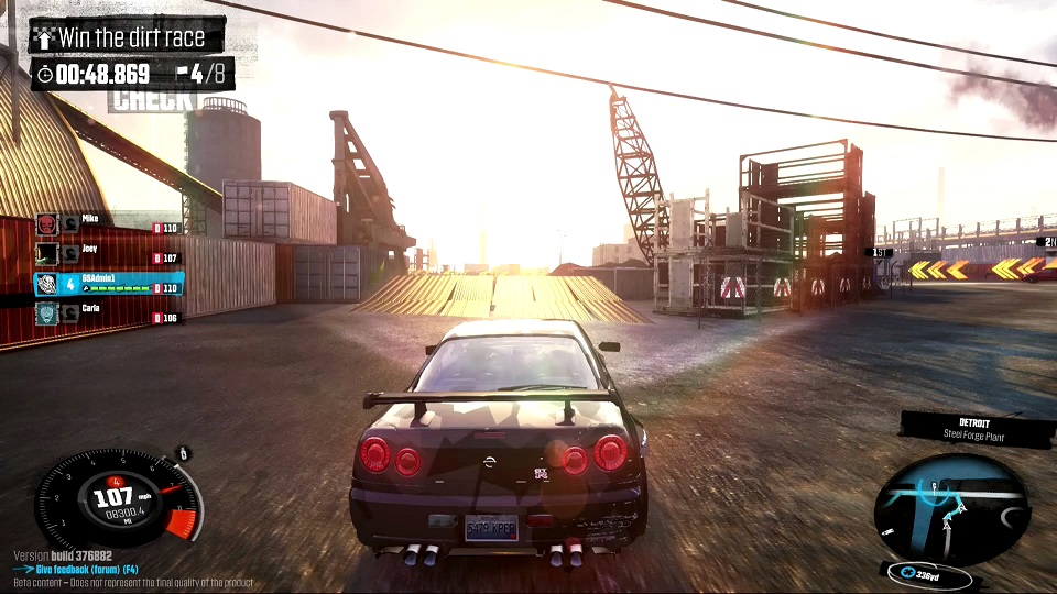 the crew racing game gameplay screenshot
