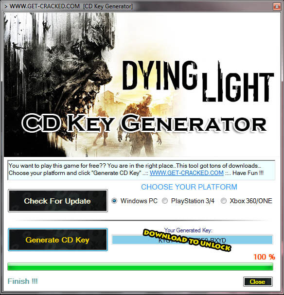 Download Dying Light full game with serial number