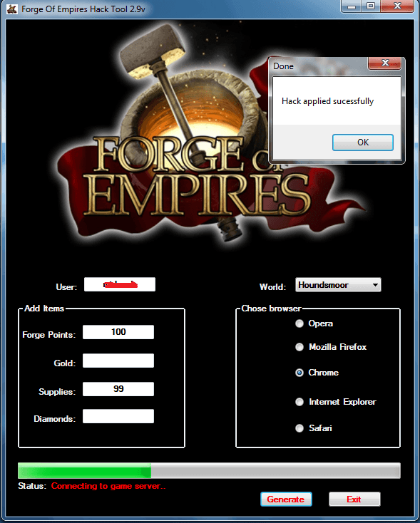 Forge Empires kesmek