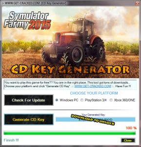 Download and play Professional Farmer 2015 for free.. cd key giveaway