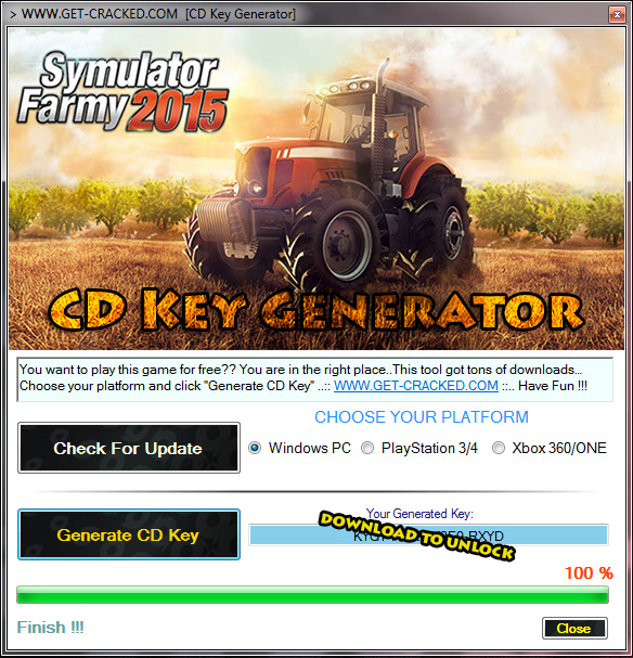 Download and play Professional Farmer 2015 saor in aisce.. cd eochair giveaway