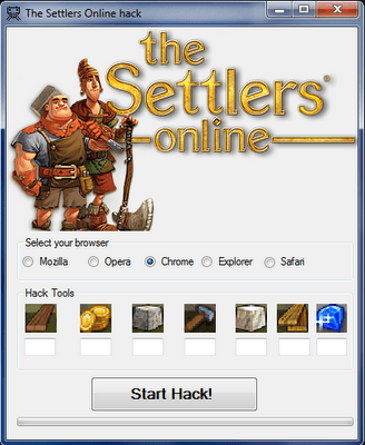 how to cheat in The Settlers Online game