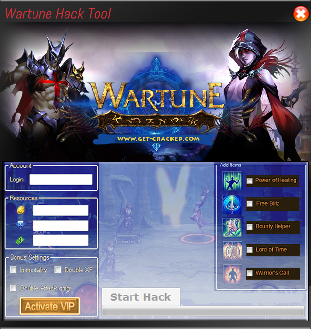 working cheat hack for Wartune game... gratis nedladdning