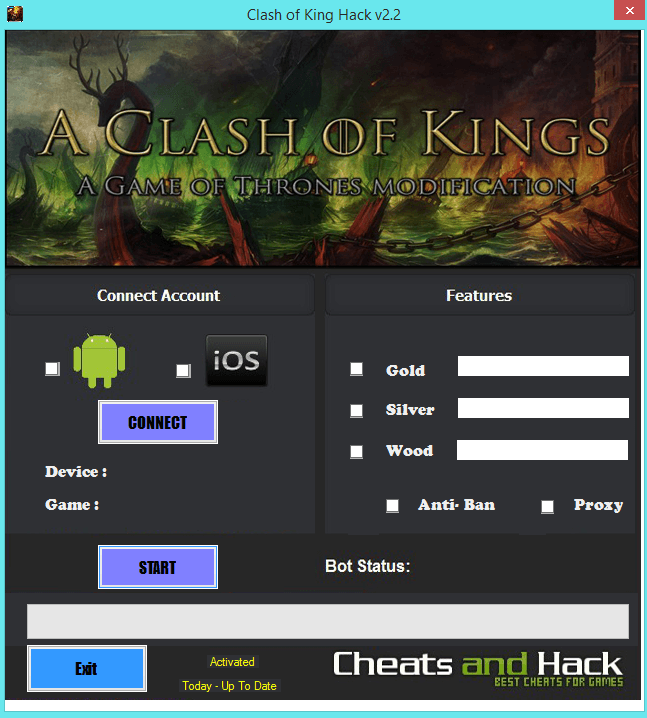 Clash of Kings cheats working