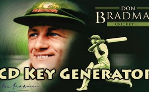 gratis cd nøgler nemlig Don The Bradman Cricket 2015