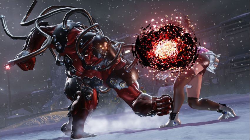 gigas on tekken 7