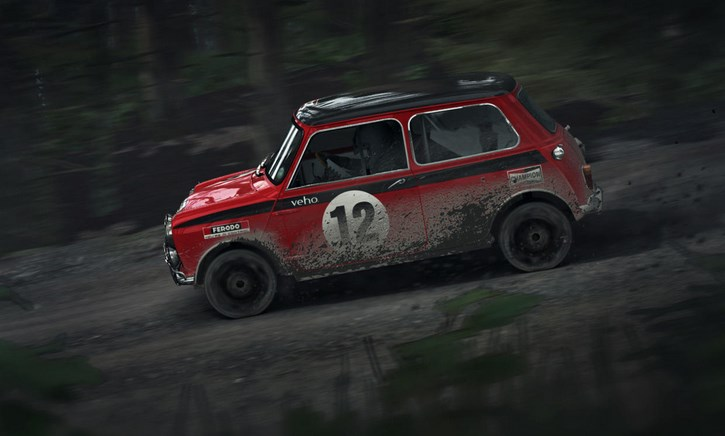 new dirt rally game