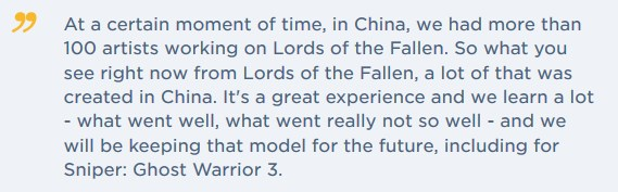 Lords Of The Fallen 2 Early Development Confirmed