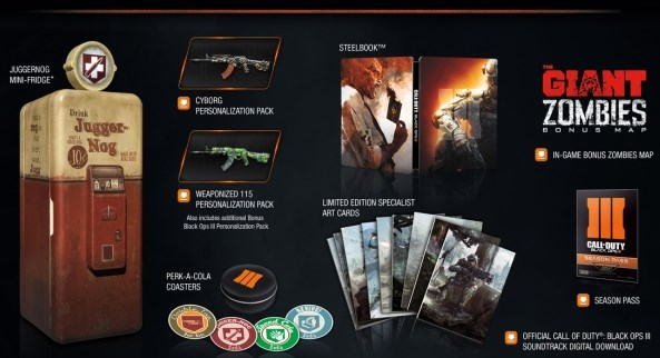 Zwarte Ops 3 Collector's Edition Sold Out