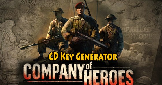 Company of Heroes steam keygen tool