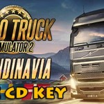 Euro Truck Simulator 2 - Scandinavia gratis steam koden cd nøkkel