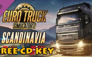 Euro Truck Simulator 2 - Scandinavia gratis steam kod cd nyckel