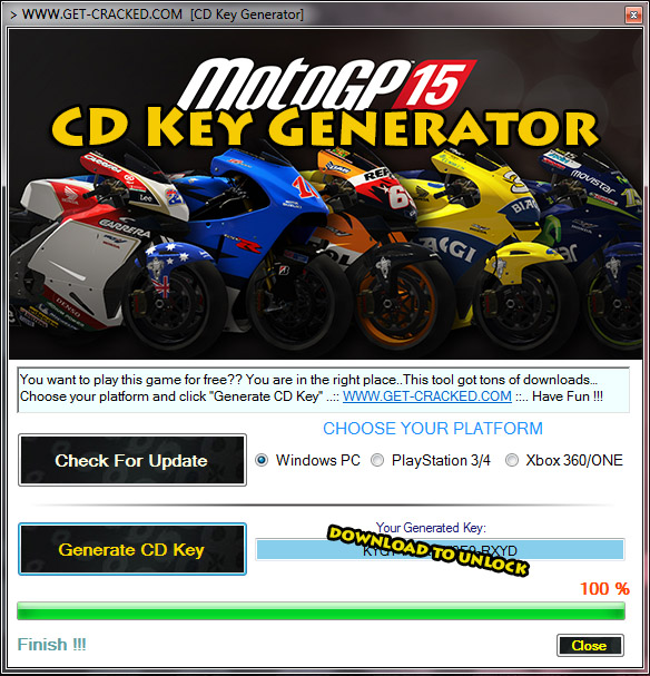 Moto GP 15 free cd key