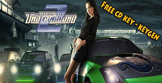 need for speed underground 2 free cd key. Black Bedroom Furniture Sets. Home Design Ideas