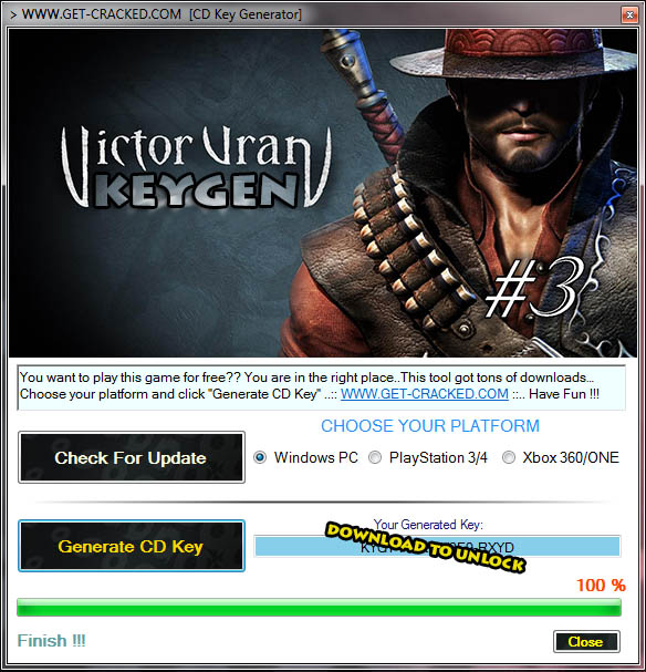 use our keygen and get Victor Vran Free Steam Codes