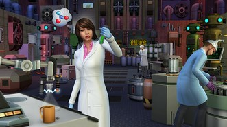 Симс 4 Get to Work Expansion Pack