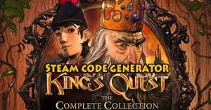 King's Quest Steam Code Generator