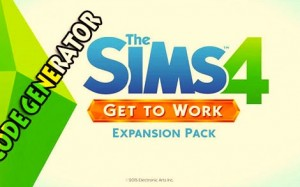 The Sims 4 Get to Work Product Code Giveaway