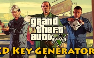 Grand Theft Auto V activation key code