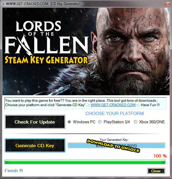 Download Lords of the Fallen Steam Key