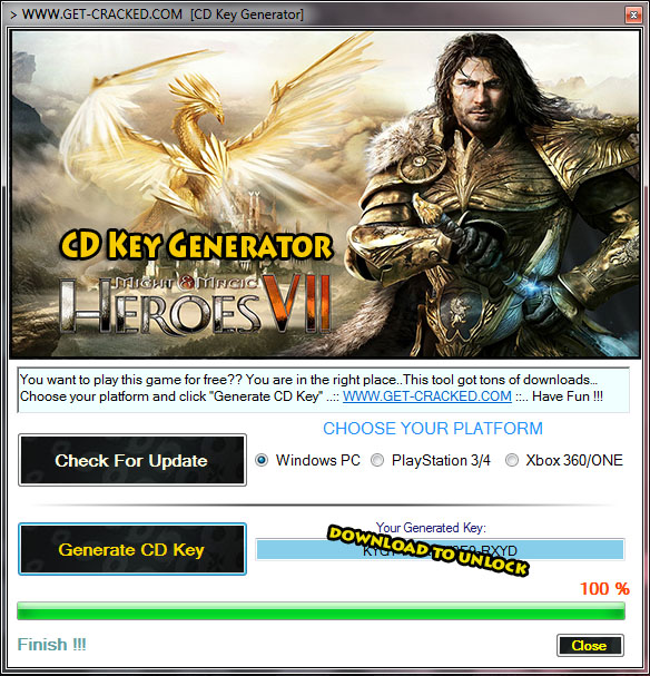 Might & Magic Heroes VII cd key generator