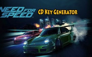 Need for Speed 2015 aktiveringen nyckel giveaway
