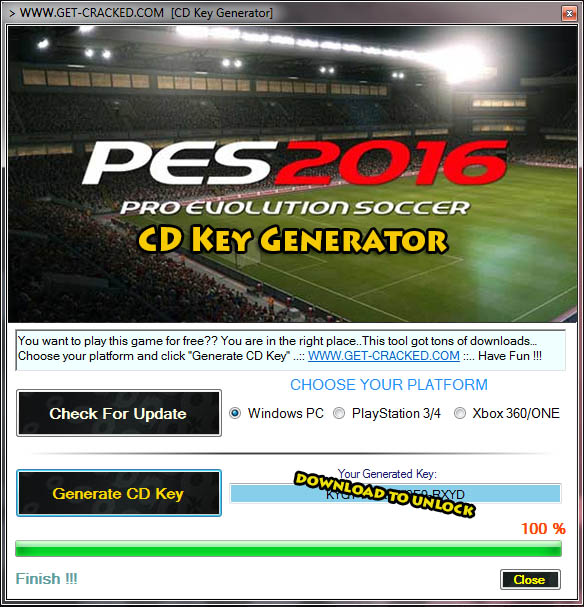 PES 16 free product code for origin