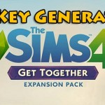 The SIMS 4 Get Together free expansion pack key code