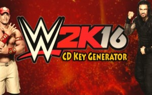 WWE 2K16 free activation key