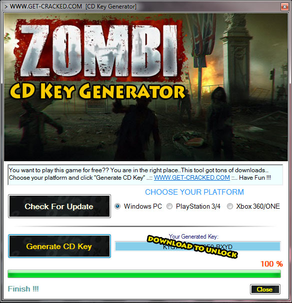 Zombie 2015 cd key gratis
