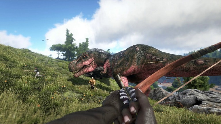ARK gameplay screenshot