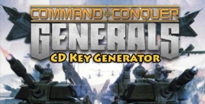 Command and Conquer Generals Free CD Key