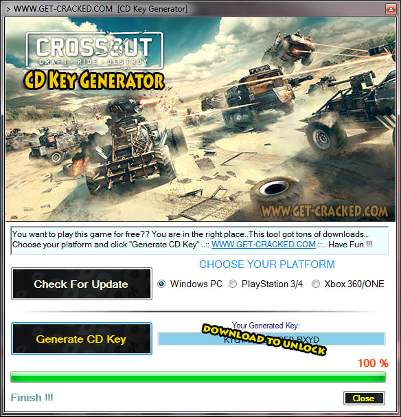 Crossout free product key generator