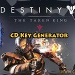 Úděl: The Taken King free activation keys