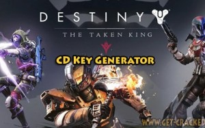 Destin: The Taken King free activation keys