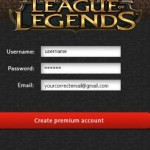 League of Legends account generator