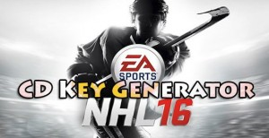 NHL 16 Free CD Key (Keygen Tool)